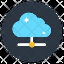 Shared Cloud Cloud Computing Cloud Network Icon