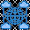 Cloud Network Cloud Server Cloud Icon