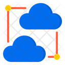 Cloud Network Communication Network Icon