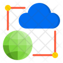 Cloud Network Network Management Icon