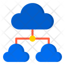 Cloud Network Network Share Icon