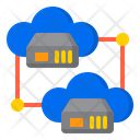 Network Server Cloud Icon