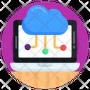 Cloud Computing Cloud Network Cloud Nodes Icon