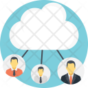 Cloud Network Technology Icon