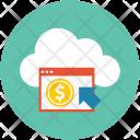 Cloud Network Finance Icon