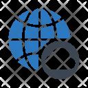 Cloud Global World Icon