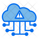 Cloud Network Alert Icon