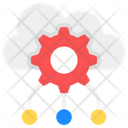 Cloud Network Configuration Cloud Setting Cloud Preferences Icon