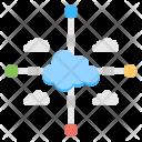 Network Development Data Icon