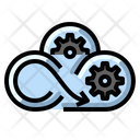 Cloud Network Management Icon