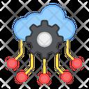 Cloud Network Management Cloud Network Setting Cloud Network Configure Icon