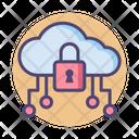 Icloud Server Security Cloud Server Security Cloud Server Lock Icon