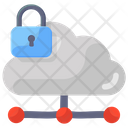 Cloud Network Security Cloud Share Share Secure Network Icon
