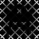 Network Security Cloud Network Security Cloud Protection Icon