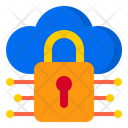 Cloud Network Security Icon