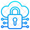 Network Lock Cloud Icon
