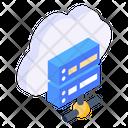 Cloud Server Hosting Server Network Server Icon