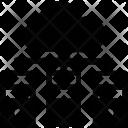Cloud Network Server Icon