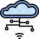 Cloud Internet Networking Icon