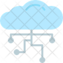 Cloud networking Icon