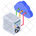 Cloud Networking Cloud Hosting Cloud Technology Icon