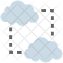 Cloud Computing Networking Icon