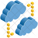 Networking Connection Clouds Icon