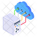 Cloud Server Cloud Networking Cloud Computing Icon