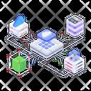 Cloud Connection Cloud Networking Cloud Services Icon