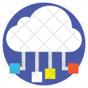 Cloud Network Data Icon