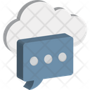 Cloud Notification Icon
