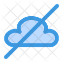 Cloud Offline Server Disconnected Icon
