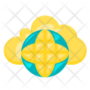 Cloud Online Net Network Icon