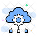 Cloud Based Platform Cloud Computing Cloud Settings Icon