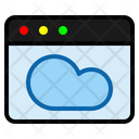 Cloud Page Cloud Server Icon