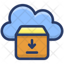Cloud Parcel Cloud Storage Cloud Computing Icon