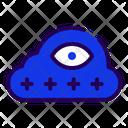 Cloud Password Password Cloud Icon