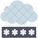 Cloud Computing Password Icon