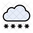 Cloud Login Password Icon