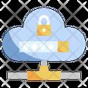 Cloud Password Icon