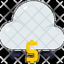 Cash Cloud Computing Dollar Icon