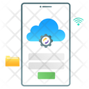 Cloud Phone Icon