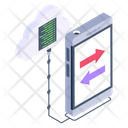 Cloud Connections Cloud Phone Transfer Cloud Phone Icon