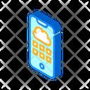 Cloud Storage Phone Icon