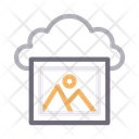 Cloud Picture Icon