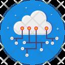 Cloud Network Cloud Computing Platform Icon