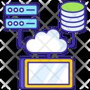 Cloud Platform Cloud Computing Cloud Services Icon