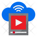 Cloud Player Player Movie Icon