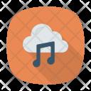 Cloud Playlist Music Icon