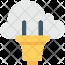 Power Plug Cloud Icon